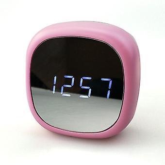 Monitoiminen herätyskello LED-näyttö Kosmeettinen peili Elektroninen kello