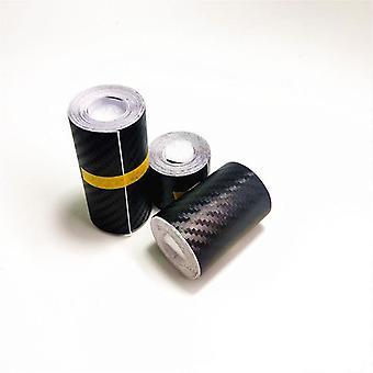 Autocollant nano fibre de carbone de voiture, bande protectrice de pâte de diy