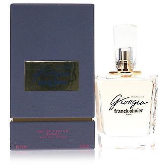 Giorgia Midnight Eau De Parfum Spray By Franck Olivier 2.5 oz Eau De Parfum Spray