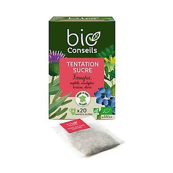 Organic sugar temptation infusion 20 units