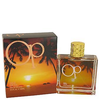 Ocean Pacific Gold Eau De Toilette Spray By Ocean Pacific 3.4 oz Eau De Toilette Spray