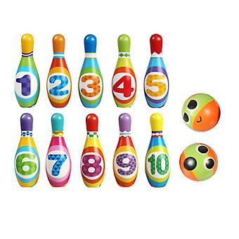 Children's Indoor Sports Bowling Toy Pu Bowling Set Ouder-kind Interactief Speelgoed