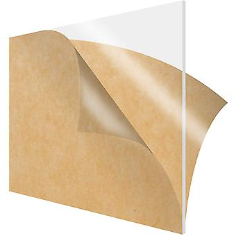200x200mm Plexiglas klar Acryl-Board, Bio-Kunststoff-Blatt