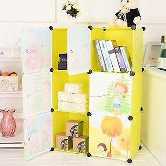 Kids Furniture Resin Wardrobe Baby Storage Cabinet