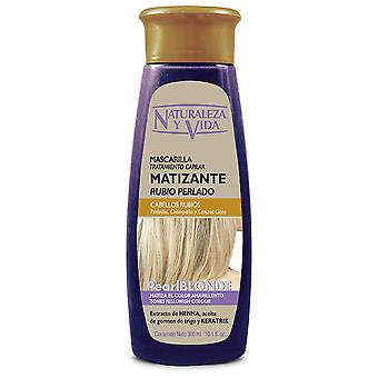 Naturaleza y Vida Silver Blonde Mattifying Mask 300 ml