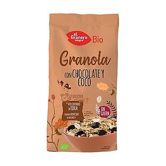 Granola with Chocolate and Coconut Gluten Free Bio 350 g