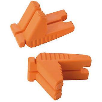 Spear and Jackson SJ-Rlb-OY Box 24 Orange/Yellow Rubber Blocks