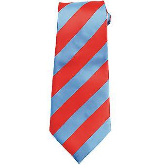 Premier Tie - Mens Bold Stripe Work Tie