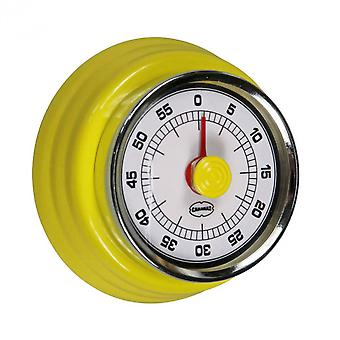 cooking timer Retro 7.5 cm steel yellow
