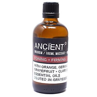 Toning & Firming Essential Oils Blend Massage & Bath Oil 100ml