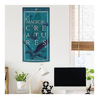 Blue Sky Designs Ltd Harry Potter Magical Creatures Wall Banner 47cm X 95cm