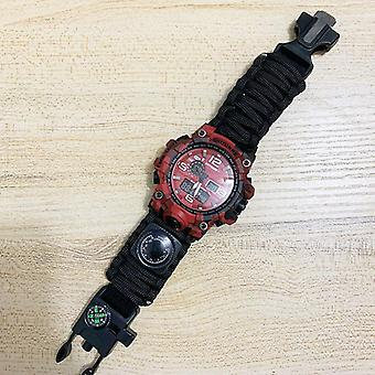 Men Camouflage Military Waterproof Wristwatch