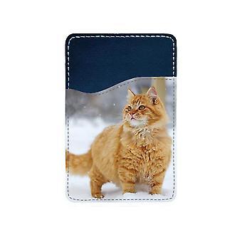Katt Perser Självhäftande Korthållare För Mobiltelefon