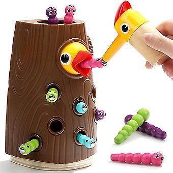 FengChun - Lernspielzeug fr Jungen und Mdchen 2 3 4 Jahre Alt - Magnetisches Kinderspiel mit Farben