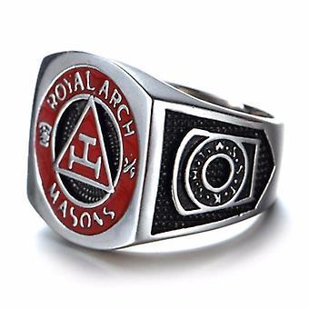 Royal arch masonic ring