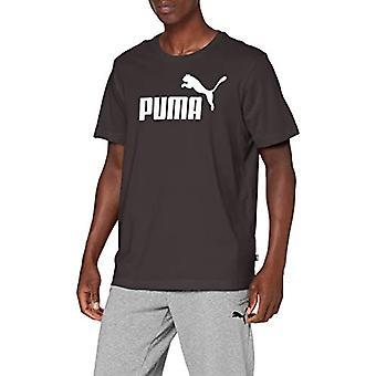 Puma Essentials Logo Tee M, Camiseta para hombre, Negro Negro, XXL