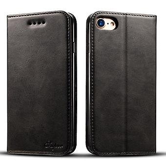 Wallet leather case card slot for iphone8plus black on570