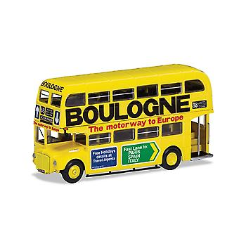 AEC Type RM - London Transport - 359 CLT (Route 88 Acton Green - 'Boulogne  The motorway to Europe') Diecast Model