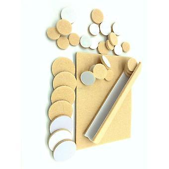 Protective Felt Pads 38 Assorted Self Adhesive Floor Protectors