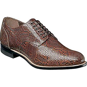 Stacy Adams Mens madison 00079 Leather Round Toe Penny Loafer