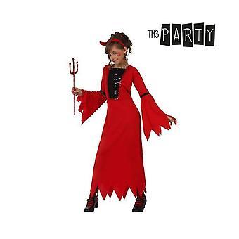 Kostüm für Kinder 5254 Weiblicher Dämon