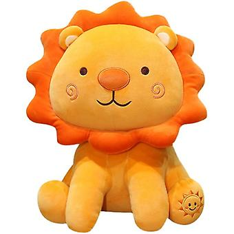 Super soft plush toy sunflower little lion doll toy throw pillow
