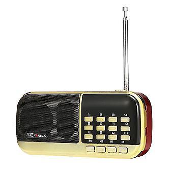 Nontaus B871 3W FM rádióvevő támogatása TF memóriakártya USB 3.5MM AUX