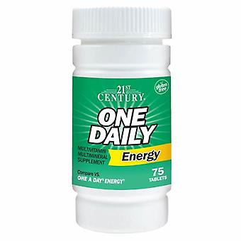 21st Century One Daily Energy, 75 Tabs