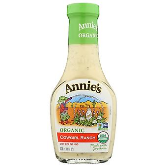 Annie's Homegrown Drssng Cowgirl Ranch Org, Case of 6 X 8 Oz