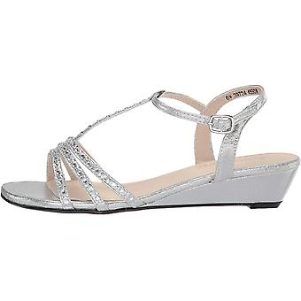 Touch Ups Women's T-Strap Wedge Sandal
