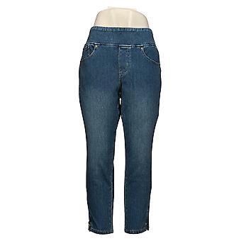 الحسناء بواسطة كيم الحصى المرأة بيتيت جينز Flexibelle الكاحل الأزرق A354261