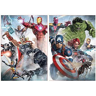 Educa Marvel Avengers Jigsaw Puzzles (2 x 500 Pieces)