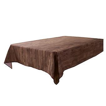 مستطيل الخشب محكم مفرش المائدة للماء تسرب واقية من النفط غطاء الجدول لجدول الطعام