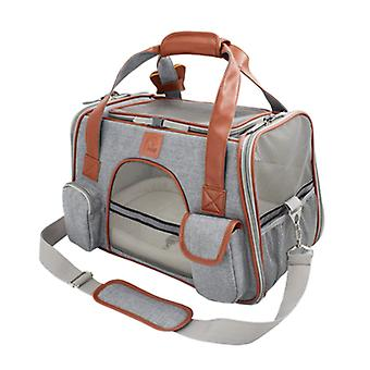 Dog Carrier Travel Car Seat Pet Carriers Portable Backpack Respirável