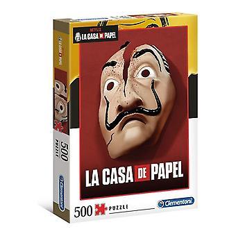 Puzzle Clementoni La Casa De Papel (500 pcs)