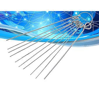 10 أنواع الفولاذ المقاوم للصدأ إبرة تعيين PCB الدائرة الإلكترونية من خلال إبرة حفرة