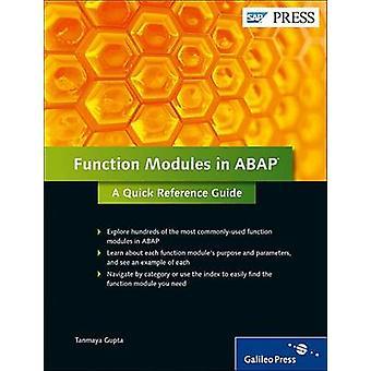 Function Modules in ABAP by Tanmaya Gupta