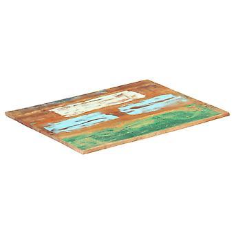 vidaXL Pöytä yläkulma suorakaiteen muotoinen 60x90 cm 15-16 mm kiinteä jätepuu