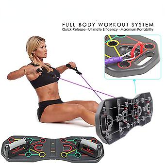 Muliti-function Push-up Rack Board Training Sport Workout Fitness Gym Equipment Push Up Stand For Abs Abdominal Muscle Building Exercise
