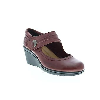 Earth Adult Womens Heron Leather Wedges Heels