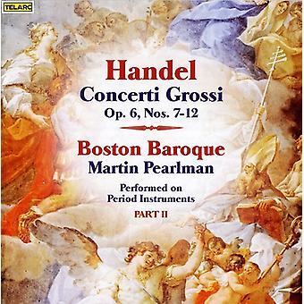 G.F. Handel - Handel: Concerti Grossi, Op. 6, Part 2 [CD] USA import