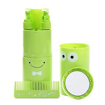 Portable Toothpaste Box Travel Wash Travel Toothbrush Cup Set For Outdoor,sports,camping