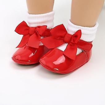 Pu Leather Shoes, Princess Bowknot Shoes