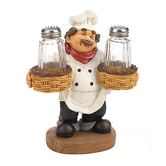 Accent Plus Italian Chef Salt and Pepper Set, Pack of 1