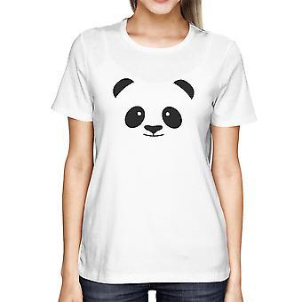 Panda la cara camiseta a escuela camiseta Linda damas para Zoo