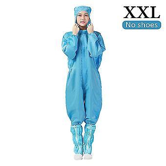 Hazardous material suits dark blue protective overalls suit splashproof protective isolation clothing suit