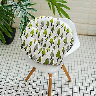 Chaises outdoor garden patio chair seat soft cotton filled cushion pad cushion trees