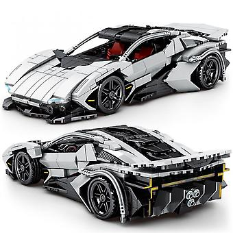 Technical Expert Ideas Famous Speed Car Building Blocks Sports Racing Vehicle Bricks Diy Toys For Boys Holiday Gifts