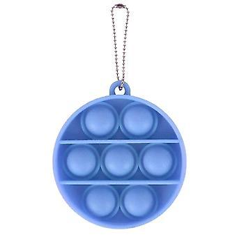 Adulto pop spinge bolla fidget portachiavi sensoriale per sollievo anti stress e ansia (S)