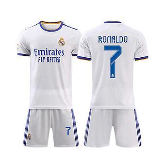 Real Madrid Home Shirt No.7 Cristiano Ronaldo Football Jersey Match Training Jersey